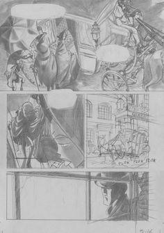 Pagina 16: lápiz sobre cartulina gris. 300€ David Belmonte ©