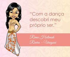 A dança faz você se descobrir? Bem vinda Rima do Uruguai! Baixe grátis aqui um Ebook lindo cheio de Mascotes e Frases pra te inspirar! #dancadoventre #centraldancadoventre #mascotedanca #frasedanca