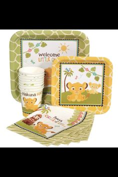 Baby Lion King - baby shower supplies