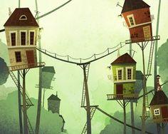 Denis Zilber Art Blog: Animation backgrounds