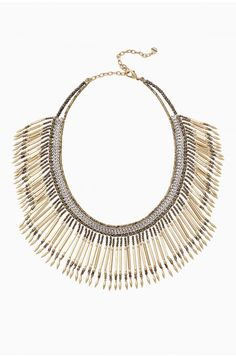 collier calla fringe  ミ  necklace jewel ethnic