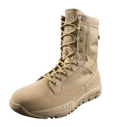 a279f4693 Shop Tactical Boots - 8 Inch Desert Shoes High Ankle Support Military Boots  - Tan -