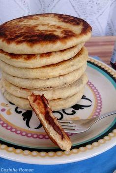 hotteok: panqueca recheada com nutella