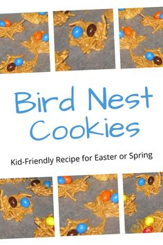 Cookies For Kids, Easter Cookies, Bird Nest Cookies Recipe, Easter Activities, Easter Recipes, Kid Friendly Meals, Jelly Beans, Us Foods, Cookie Recipes