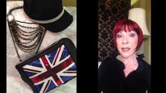 Video #1: Watch me style the items for sale from JMS pinned on this board.  In this video I work with a hat, a gorgeous necklace and a Union Jack novelty purse!  CLICK TO WATCH!!!