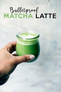 Bulletproof Matcha Latte http://www.thebalancedberry.com/bulletproof-matcha-latte/