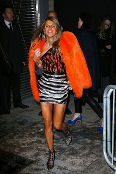 Anna dello Russo Photos: Saint Laurent : Outside Arrivals  - Paris Fashion Week Womenswear Fall/Winter 2014-2015