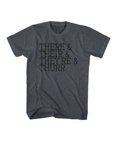 This Charcoal 'Thurr' Tee - Toddler & Boys by American Classics is perfect! #zulilyfinds