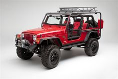 Body Armor 4X4 Jeep Wrangler TJL Roof Rack Base Unit