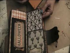 ▶ witches junk journal with wand - YouTube