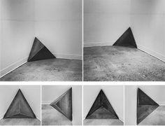 Corner Positive/Negative   Pedro Duarte Bento 2013, [mild carbon steel, 21,7x21.7 inches / 50x50x50 cm, edition of 1]