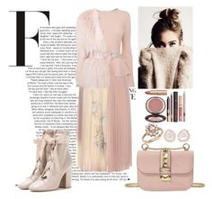 """""""#203"""" by souffle-girl0 ❤ liked on Polyvore featuring Valentino, BOSS Hugo Boss, Bloomingdale's, Kimberly McDonald, Balmain and Charlotte Tilbury"""