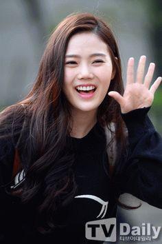 #oh my girl#hyojung#p:news#p:cupid#150424