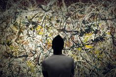 Jackson Pollock's paintings mirror nature's patterns, like branching trees, snowflakes, waves—and the structure of the human eye.