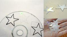 Adornos navideños reciclando CDs | Aprender manualidades es facilisimo.com
