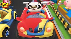 Dr Panda Racers Game for Kids by MavoTV