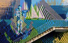 Painel de azulejo de Maria Keil