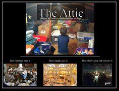 oooooh... the attic
