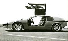 BMW M1 original concept (1975)