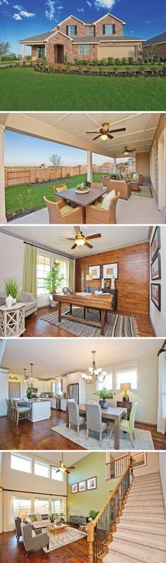 David Weekley Homes is an experienced home builder in San Antonio. Splash Park, Interior And Exterior, Interior Design, Nice Houses, Outdoor Playground, Model Homes, Open Floor, Dream Homes, San Antonio