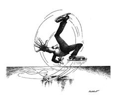 Irancartoon Web Gallery :: The Exhibition of Sport Cartoons by Claude Serre-France :: 004_G