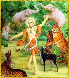 "Shri Krishna Chaitanya Mahaprabhu Artist: Haridas Thakur das ""Chanting about…"