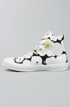 fa5cf5ced27 The Marimekko Chuck Taylor All Star Premium Hi Sneaker in White Black and  Green