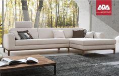 Sitzgarnitur ADA Tabora Outdoor Sectional, Sectional Sofa, Sofas, Couch, Outdoor Furniture, Outdoor Decor, Home Decor, Living Room, Modular Sofa