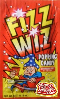 FIZZ WIZ POPPING CANDY x25 RETRO SWEETS PARTY BAG FILLE | eBay Uk Sweets, Retro Sweets, Chocolate Sweets, I Love Chocolate, 1970s Childhood, Childhood Memories, Penny Sweets, 60s Theme, Back To School Party