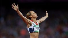 Jessica Ennis of Great Britain wins Heptathalon gold. #Olympics Olympics