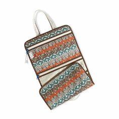 Hanging Cosmetic Bag, Ravinia Ivory @organizingstore