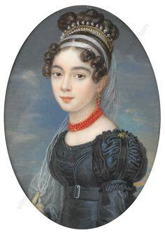 Attr. to Joseph Krafft, Portrait of Henriette Rottmann, 1820
