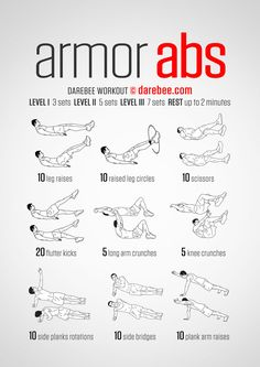 Armor Abs Workout                                                       …