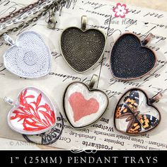 Heart Pendant Trays – Annie Howes