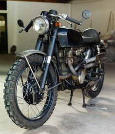 Honda CL350 from Girl with the dragon tattoo. I think half the reason i liked the movie so much was because of the bike