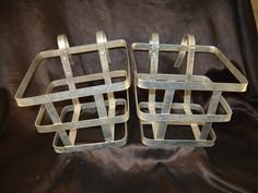 Metal Baskets IKEA 2 Hooks Garden Pots Patio Deck Plant Hanger Potted Industrial | eBay