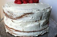 Naked cake aux framboises – chantilly au mascarpone