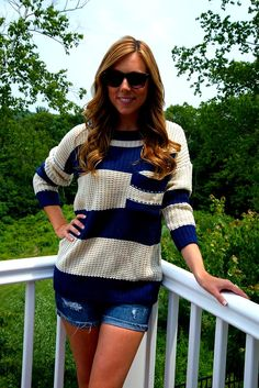 Relaxed summer knit!