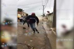 Fuerte Oleaje En Nagua Por El Huracán Irma