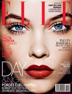 BARBARA PALVIN & ELLE November 2013 Cover Posted By USA Fashion & Music News http://thefireboys.blogspot.com/2013/11/barbara-palvin-for-elle-nobember-2013.html