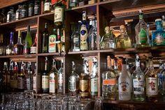 Unique and Aesthetic Beverage's Shelves Interior Design of The Chieftain Irish Pub and Restaurant, San Francisco