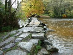 Walks And Walking – Somerset Walks – Dulverton Tarr Steps Video.    This video was taken on a 12 mile circular walking route in Somerset to the famous Dulverton Tarr Steps. The Tarr Steps is a prehistoric unique clapper bridge across the River Barle situated in the Exmoor National Park.    http://www.walksandwalking.com/2012/04/somerset-walks-dulverton-tarr-steps-video/