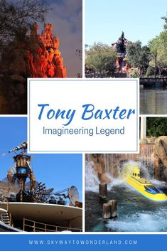 Learn all about the attractions, lands, and parks Tony Baxter created during his time as an Imagineer with the Walt Disney Company. Run Disney, Disney Tips, Disney Love, Disney Parks, Walt Disney World, Disneyland Paris Rides, Indiana Jones Adventure, Disney Fun Facts, Sleeping Beauty Castle