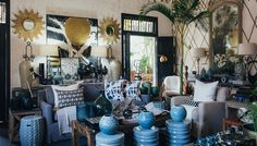 Cécile and Boyd Durban store Decor, Table, Table Decorations, Lounge, Home Decor, Furniture