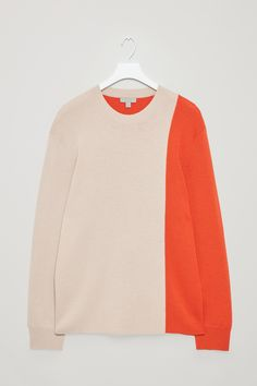 COS | Colour-block wool jumper