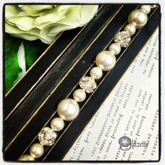 Bridal Bracelet  Mother of the Bride gift Wedding by Glitzette, $29.00