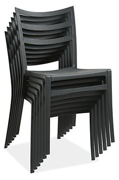 Lightweight And Durable, The Molded Plastic Chair Adds Personality With  Color.