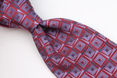 ROBERT TALBOTT BEST OF CLASS Metallic Purple Red mens Silk Tie #RobertTalbott #Tie