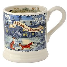 """Matthew Rice"" Year in the Country Fox & Owls Pint Mug at Emma Bridgewater Emma Bridgewater Pottery, Crafts Beautiful, Its My Bday, Stoke On Trent, Pottery Making, Tea Mugs, Mug Cup, Christmas Inspiration, Tea Party"