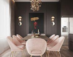 Project Raft Luxury Dining Room, Dining Room Design, Dining Area, Sweet Home, Interior Design, Modern Interior, Room Interior, Furniture, Repeat